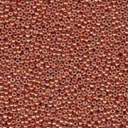 Miyuki Rocailles Perlen 3mm 4207 Duracoat galvanized Pink Blush ca 22gr