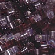 Miyuki Würfel Perlen 3mm Mix01 Lilacs ca 25 Gr.
