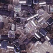 Miyuki Würfel Perlen 3mm Mix12 Apparition ca 20 Gr.