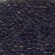 Miyuki Würfel Perlen, Cube, Square Beads 4mm 0458 metallic rainbow Dark Bronze Purple 20gr