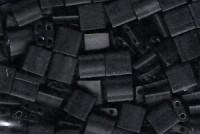 Miyuki Tila Perlen 5mm Black Matt TL0401F 7,2gr