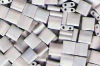 Miyuki Tila Perlen 5mm Opaque White Matt TL0402FR 7,2gr