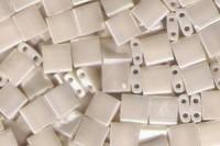 Miyuki Tila Perlen 5mm Antik Elfenbein Pearl Ceylon TL0592 7,2gr