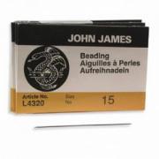 English Beading Needles 25 Stück Größe 15