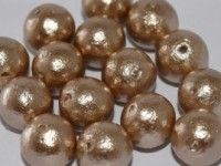 Miyuki Cotton Perlen 12mm J685 Beige 10 Stück