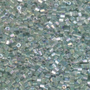 Miyuki Hexagon Perlen 8C-2780 3mm colorlined irisierend Seafoam 11gr