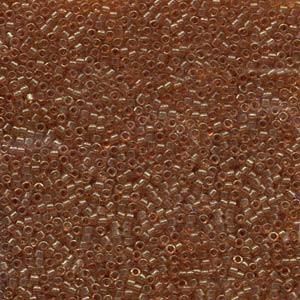 Miyuki Delica Perlen 1,6mm DB0121 Gold luster dark Topas 5gr