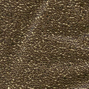 Miyuki Delica Perlen 1,6mm DB0022L metallic Light Bronze 5gr