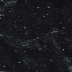 Miyuki Delica Perlen 1,6mm Hexcut DBC0010 opaque Black 5gr