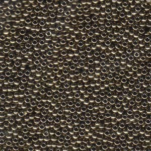 Miyuki Rocailles Perlen 1,5mm 0457 metallic Bronze ca 11gr