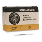 John James Nadeln Sharps 25 Stück Grösse 10