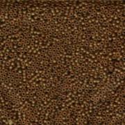 Miyuki Rocailles Perlen 2mm 0134F matt  transparent light Brown 12gr