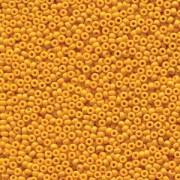 Miyuki Rocailles Perlen 2mm 4453 Duracoat opaque dyed Yellow ca 12gr