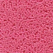 Miyuki Rocailles Perlen 2mm 4467 Duracoat opaque dyed Party Pink ca 12gr