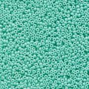 Miyuki Rocailles Perlen 2mm 4472 Duracoat opaque dyed Seafoam ca 12gr