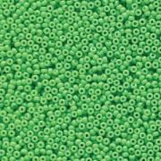 Miyuki Rocailles Perlen 1,5mm 4476 Duracoat opaque dyed Grass ca 11gr