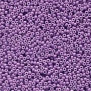 Miyuki Rocailles Perlen 1,5mm 4490 Duracoat opaque dyed Dark Purple ca 11gr