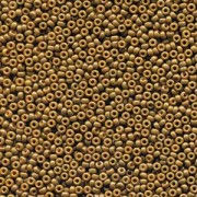 Miyuki Rocailles Perlen 2mm 4492 Duracoat opaque dyed Topaz ca 12gr