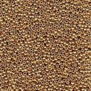 Miyuki Rocailles Perlen 2mm 4204 Duracoat galvanized Champagne ca 23,5gr