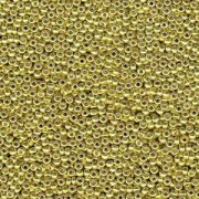 Miyuki Rocailles Perlen 2mm 4205 Duracoat galvanized Zest ca 23,5gr