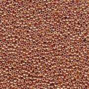 Miyuki Rocailles Perlen 2mm 4206 Duracoat galvanized Muscat ca 23,5gr