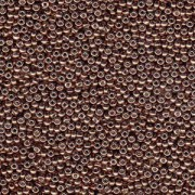 Miyuki Rocailles Perlen 2mm 4213 Duracoat galvanized Dark Mauve ca 23,5gr