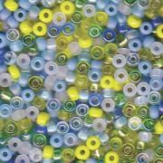 Miyuki Rocailles Perlen 2mm Mix06 Lagoon ca 24 Gr.