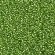 Miyuki Rocailles Perlen 1.5mm 2423 silverlined Lime ca 11gr