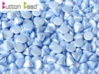 Button Beads 4mm Pastel Light Sapphire ca 50 Stück
