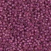 Miyuki Rocailles Perlen 1,5mm 4247 Duracoat Silverlined Fuchsia ca 11gr