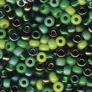 Miyuki Rocailles Perlen 3mm Mix03 Evergreen ca 22gr