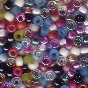 Miyuki Rocailles Perlen 3mm Mix15 Spring Flowers ca 22gr