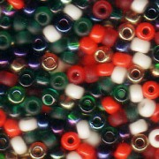 Miyuki Rocailles Perlen 3mm Mix45 XMAS ca 22gr