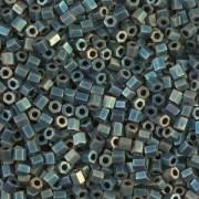 Miyuki Hexagon Perlen 8C-2008 3mm matt metallic rainbow Patina ca 11gr