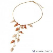 Miyuki Bead Jewelry Kit BFK 107 Moon Shell Necklace