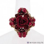 Miyuki Bead Jewelry Kit BFK 118 Carmen Roese Ring