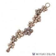 Miyuki Bead Jewelry Kit BFK 156 Right Angle Weave Souple Flower Bracelet