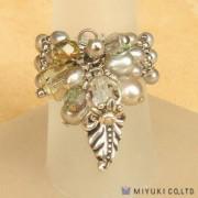 Miyuki Bead Jewelry Kit BFK 64 Freshwater Pearl Ring