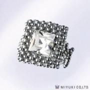 Miyuki Bead Jewelry Kit BFK 78 Square Motif Ring