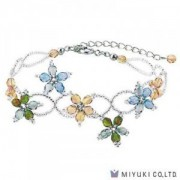 Miyuki Bead Jewelry Kit BFK 93 Varied Flowers Bracelet