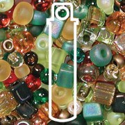 Beadsoup Perlensuppe MIX 07 ca 22gr  Earth Tone