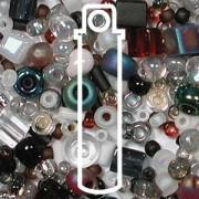 Beadsoup Perlensuppe MIX 13 ca 22gr  Pebblestone