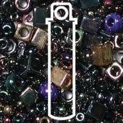 Beadsoup Perlensuppe MIX 23 ca 22gr  Heavy Metals