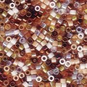 Miyuki Delica Perlen 1,6mm Mix22 Honey Butter 7,2 Gr.