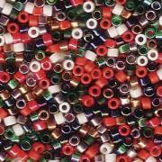 Miyuki Delica Perlen 1,6mm Mix45 XMAS 7,2 Gr.