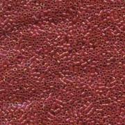 Miyuki Delica Perlen 1,6mm DB0162 Opaque Red AB 5gr