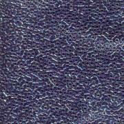 Miyuki Delica Perlen 2,2mm DBM0059 transparent rainbow Magenta Blue 7,2 Gr.
