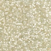 Miyuki Delica Perlen 1,6mm DB0672 Ivory Satin Silk ca 4gr.