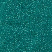 Miyuki Delica Perlen 1,6mm DB0786 Transparent Dyed matt Turquoise 5gr