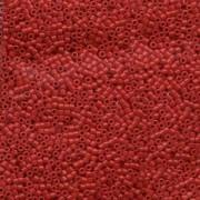 Miyuki Delica Perlen 1,6mm DB0791 Opaque Dyed Red 5gr